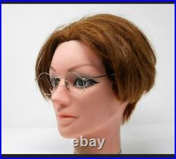 Vintage Round Metal Panto 1950 French France Eye Glasses Lunettes Eyeglasses 2