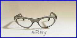 Vintage SWANK Eyeglasses Cat Eye withRhinestones Made In FRANCE