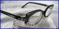 Vintage SWANK brand rhinestone glasses, made in France Super Cool