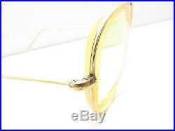 Vintage Seythoux 14k Gf Gold Filled 321 Teardrop Aviator Eyeglasses Frames G105
