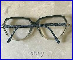 Vintage Torrente Eyeglasses Unique New Frame With Small Stones Made In France
