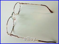 Vintage VUILLET VEGA Paris Brille Prestige 70 22k Gold Glasses Frames Lunettes