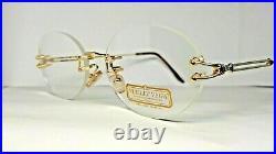 Vintage Vuillet Vega eyeglasses Prestige 320 Rare Gold N. O. S. Made in France