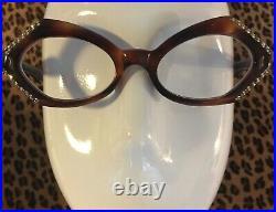 Vintage Women's Eyewear Made in France Doré