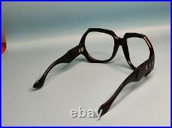 Vintage Yves Saint Laurent Ysl 405 Black Acetate Eyeglasses Frame France #143