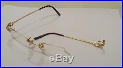 Vintage cartier eyeglasses frames Cartier paris made in france 19 135