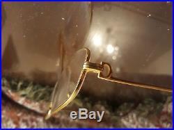 Vintage cartier romance louis eyeglasses size 54mm