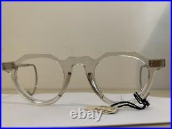 Vintage french eyeglasses frame france 1950 crown panto