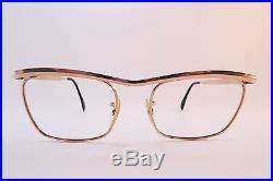 Vintage gold filled eyeglasses frames ALGHA 20 size 50-22 made in England
