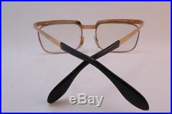 Vintage gold filled eyeglasses frames Solex 14K 1/25 Mod. 503 men's M KILLER