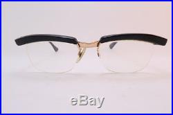 Vintage late 50s eyeglasses frames Amor France Ronnie Kray men's small DEADLY
