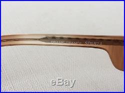 Vtg 70's Rx Mod/GoGo Diane Von Furstenberg Oversized Glasses Frames Made France