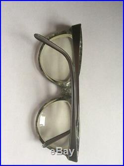 Vtg Claude Montana Mikli Eyeglasses Frames Grey Mod 530 New Wave 80s 1986 Rare