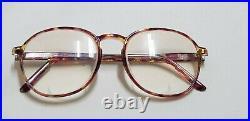 Vtg France glasses Round cold insert eyeglasses panto frame polyamide frames