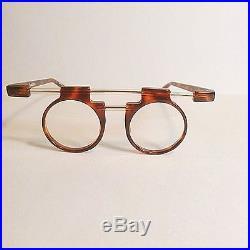 Vtg Jean-Charles de Castelbajac 0011 Modernist Gemini Eyeglasses Handmade France