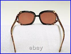 Vtg TED LAPIDUS Sunglasses Tortiose 70s Unisex Oversized Eyeglass Frame France