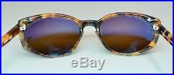 Vtg Vaurnet Sunglasses Eyeglasses Frames Tortoise Shell Browns X Ref. 072 EUC