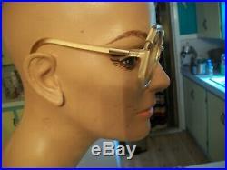 Women's Unisex Vintage 70's Ted Lapidus France Oversize Eye Glasses