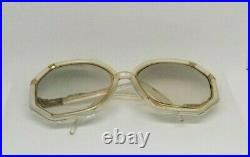 Women's Unisex Vintage 70's Ted Lapidus France Oversize Eye Glasses Rx