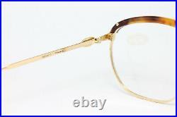 XL Ettore Bugatti 65239 B Aviator Vintage Glasses Eyeglasses Lunettes Frame Rare