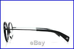 Yohji Yamamoto Modern Vintage Round Eyeglasses Black 1003 002
