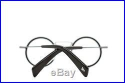 Yohji Yamamoto Modern Vintage Round Eyeglasses Black 1003 115
