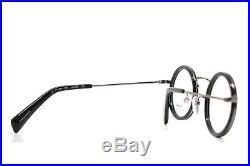 Yohji Yamamoto Modern Vintage Round Eyeglasses Black 1003 914
