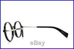 Yohji Yamamoto Modern Vintage Round Eyeglasses Black 1006 019