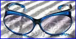 Yves Saint Laurent Too Glam/Radical Blue Sunglasses 70's/80's